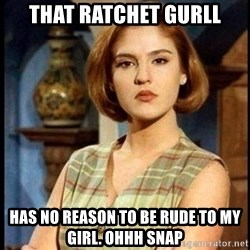 Angelica Santibañez - That Ratchet GURLL Has no reason to be rude to my giRl. Ohhh snap