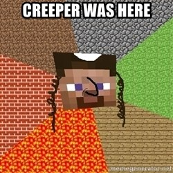 Minecraft Jew - CREEPER WAS HERE