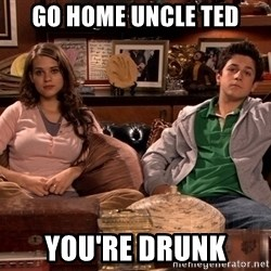How i met your mother kids - Go home uncle ted you're drunk