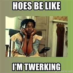 Hoes Be Like  - HoEs be like I'm twerking