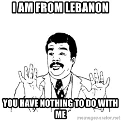 aysi - I AM FROM LEBANON  YOU HAVE NOTHING TO DO WITH ME