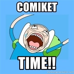 Finn from adventure time - comiket time!!