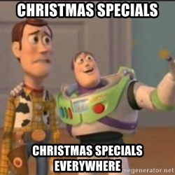X, X Everywhere  - christmas specials christmas specials everywhere