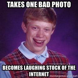 Bad Luck Brian - takes one bad photo becomes laughing stock of the internet