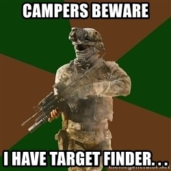 Call Of Duty Addict - campers beware  i have target finder. . .
