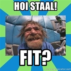 hurting henry - hoi staal! fit?