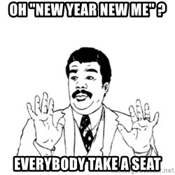 """aysi - OH """"NEW YEAR NEW ME"""" ? EVERYBODY TAKE A SEAT"""