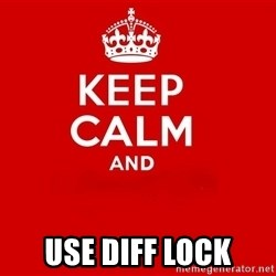 Keep Calm 2 - USE DIFF LOCK