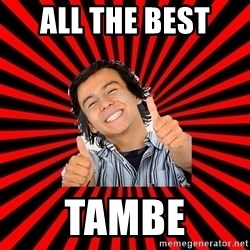 Bad Luck Chuck - ALL THE BEST  TAMBE