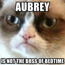 angry cat asshole - Aubrey Is not the boss of bedtime