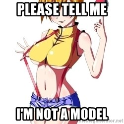 pokemon GIRL - PLEASE TELL ME  I'M NOT A MODEL