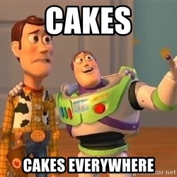 Consequences Toy Story - CAKES CAKES EVERYWHERE