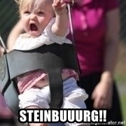 little girl swing - STEINBUUURG!!