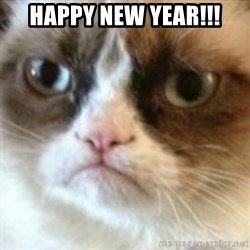 angry cat asshole - Happy New year!!!