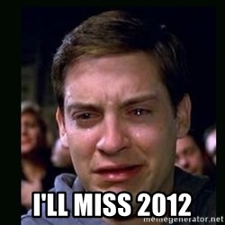 crying peter parker - I'LL MISS 2012