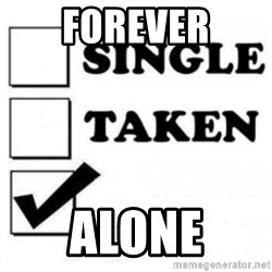 single taken checkbox - ForeveR Alone
