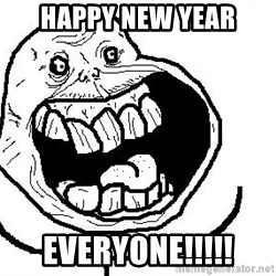 Happy Forever Alone - happy new year everyone!!!!!