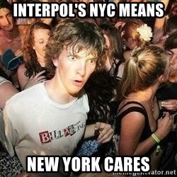 -Sudden Clarity Clarence - INTERPOL's NYC means New York cares