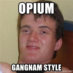 Really Stoned Guy - opium gangnam style