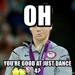 Not Impressed McKayla - oh you're good at just dance 4?