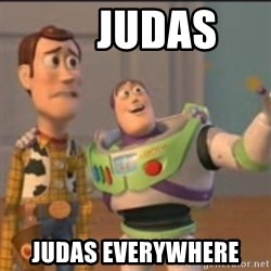 Buzz -      JUDAS JUDAS EVERYWHERE