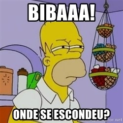 Simpsons' Homer - Bibaaa! Onde se escondeu?