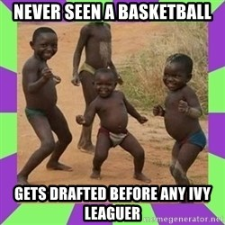 african kids dancing - NEVER SEEN A BASKETBALL GETS DRAFTED BEFORE ANY IVY LEAGUER