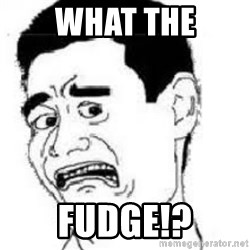 scared yaoming - WHAT THE FUDGE!?