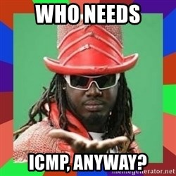 t pain - WHO NEEDS ICMP, ANYWAY?