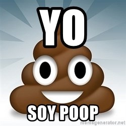 Facebook :poop: emoticon - yo soy poop