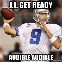 Tonyromo - J.J. GET READY AUDIBLE AUDIBLE