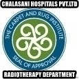 Seal Of Approval - CHALASANI HOSPITALS PVT.LTD RADIOTHERAPY DEPARTMENT