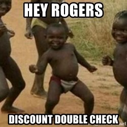 Black Kid - Hey Rogers Discount Double Check