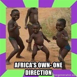 african kids dancing - africa's own- one direction
