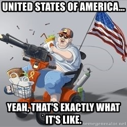 mr.merica - united states of america... yeah, that's exactly what it's like.