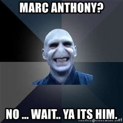crazy villain - Marc Anthony? no ... wait.. ya its him.