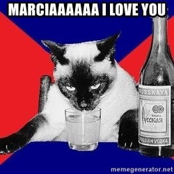 Alco-cat - MARCIAAAAAA I LOVE YOU
