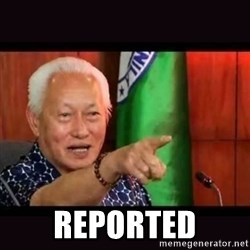 ALFREDO LIM MEME - reported