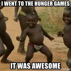Black Kid - I WENT TO THE HUNGER GAMES IT WAS AWESOME