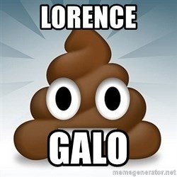 Facebook :poop: emoticon - lorence galo