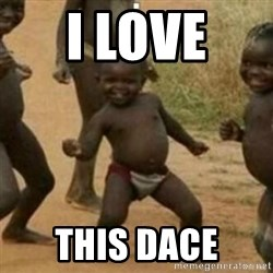 Black Kid - I LOVE  THIS DACE