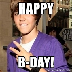 Justin Beiber - Happy B-DAY!