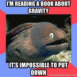 Bad Joke Eels - I'M READING A BOOK ABOUT GRAVITY  IT'S IMPOSSIBLE TO PUT DOWN