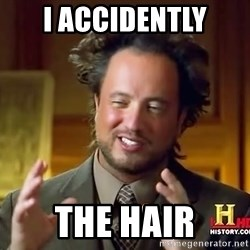 Giorgio A Tsoukalos Hair - I ACCIDENTLY THE HAIR