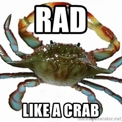 Boss Crab - RAD like a crab