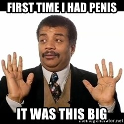 AY YA - first time i had penis it was this big