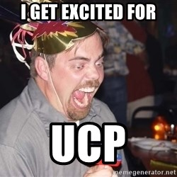 OMG it spins - I get excited for UCP