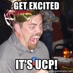 OMG it spins - get excited it's UCP!