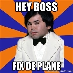 Tattoo fantasy island - Hey boss Fix de plane