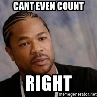 Xzibit WTF - cant even count right